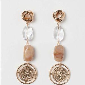 Long earrings  H&M